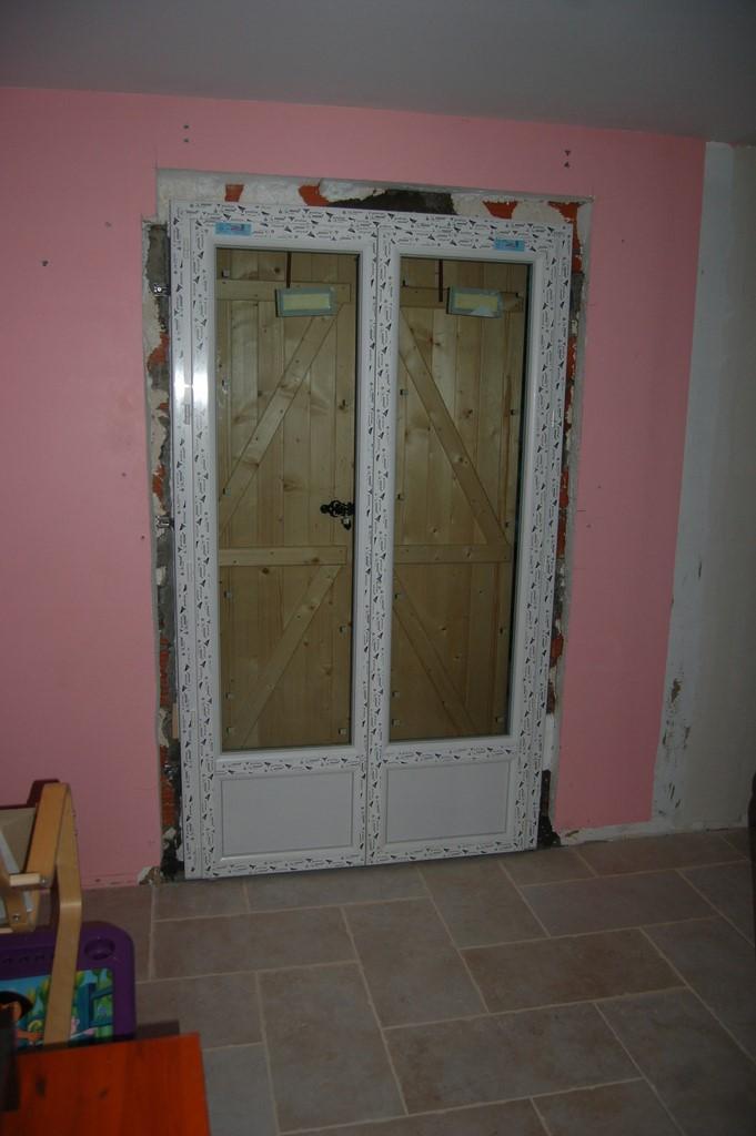 Agrandissement d 39 une maison par le haut 50 me et 51 me - Remplacer une fenetre par une porte fenetre ...