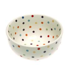 Rainbow Polka Dot Bowls