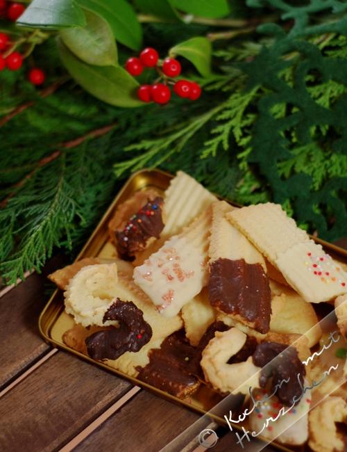 Weihnachtsbäckerei - Spritzgebäck