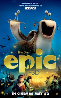 Epic 3D Movie Poster