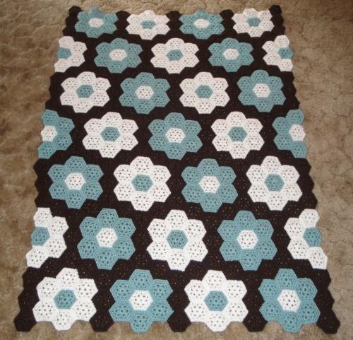 Garden Coverlet - Free Pattern