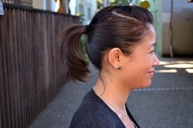 sacramento office fashion blogger angeline evans the new professional loft cardigan nordstrom stud earrings