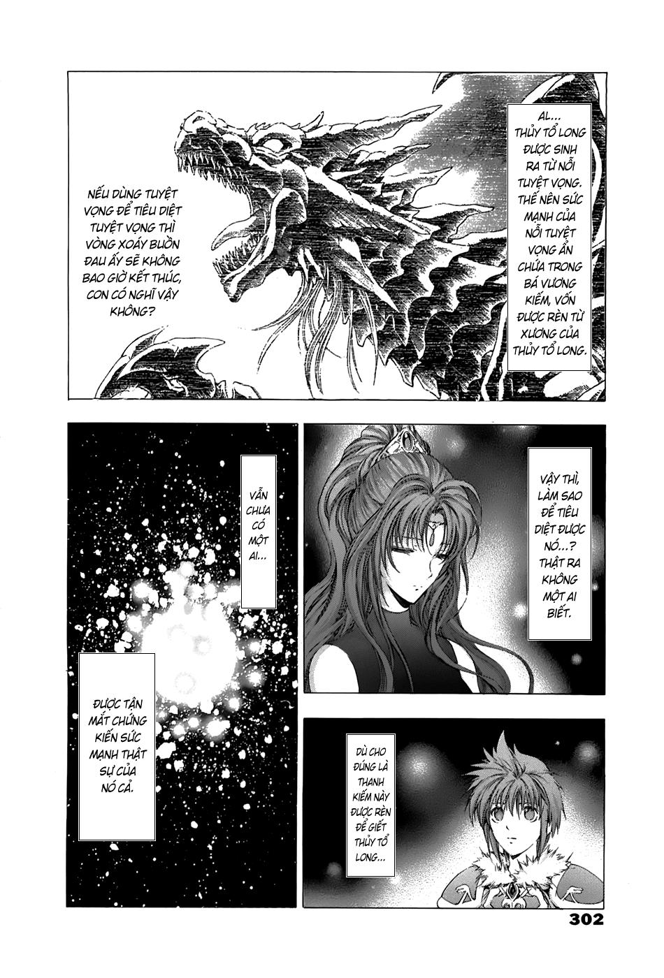 Fire Emblem-Hasha no Tsurugi chap 44 - Trang 22