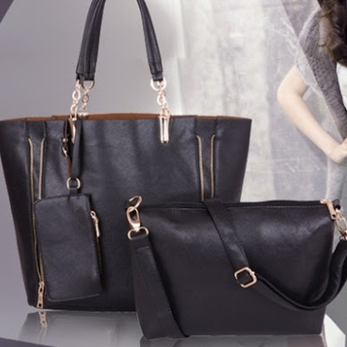 AA FASHION BAG (BLACK)
