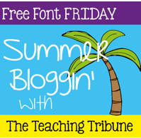 http://www.theteachingtribune.com/2014/06/free-font-friday-1.html