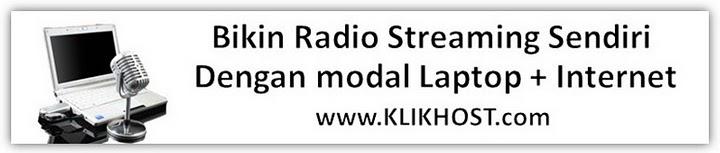 radio streaming shoutcast murah indonesia, jasa pembuatan radio streaming, cara membuat radio streaming