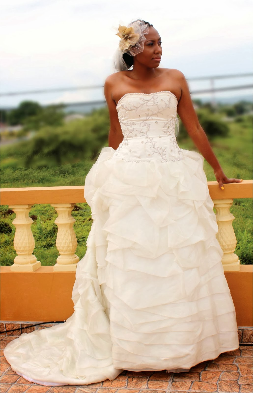 Wheat less in jamaica tying the knot in jamaica wedding for Caribbean wedding dresses for guests