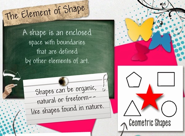 Glogster Element of Shape
