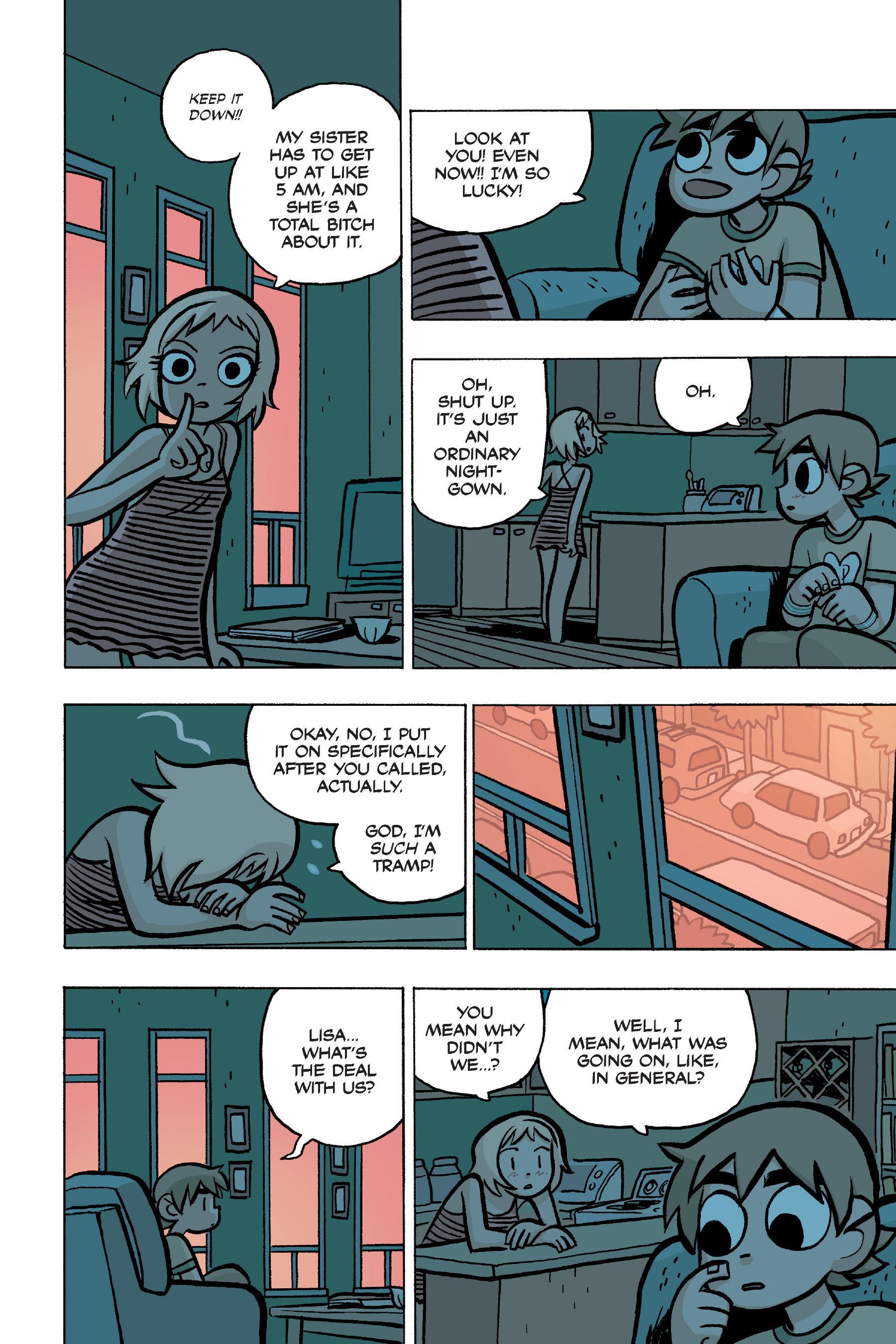 Read online Scott Pilgrim comic -  Issue #4 - 136