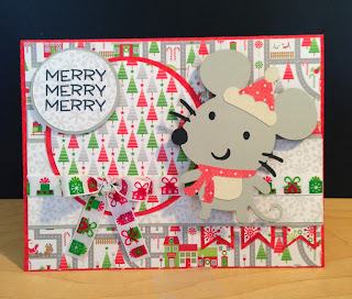 Cricut, Create-A-Critter 2, Action Wobbles, Christmas Card