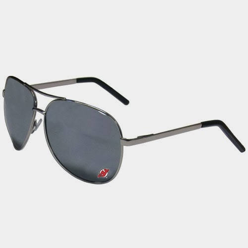 New Jersey Devils NHL Aviator Sunglasses