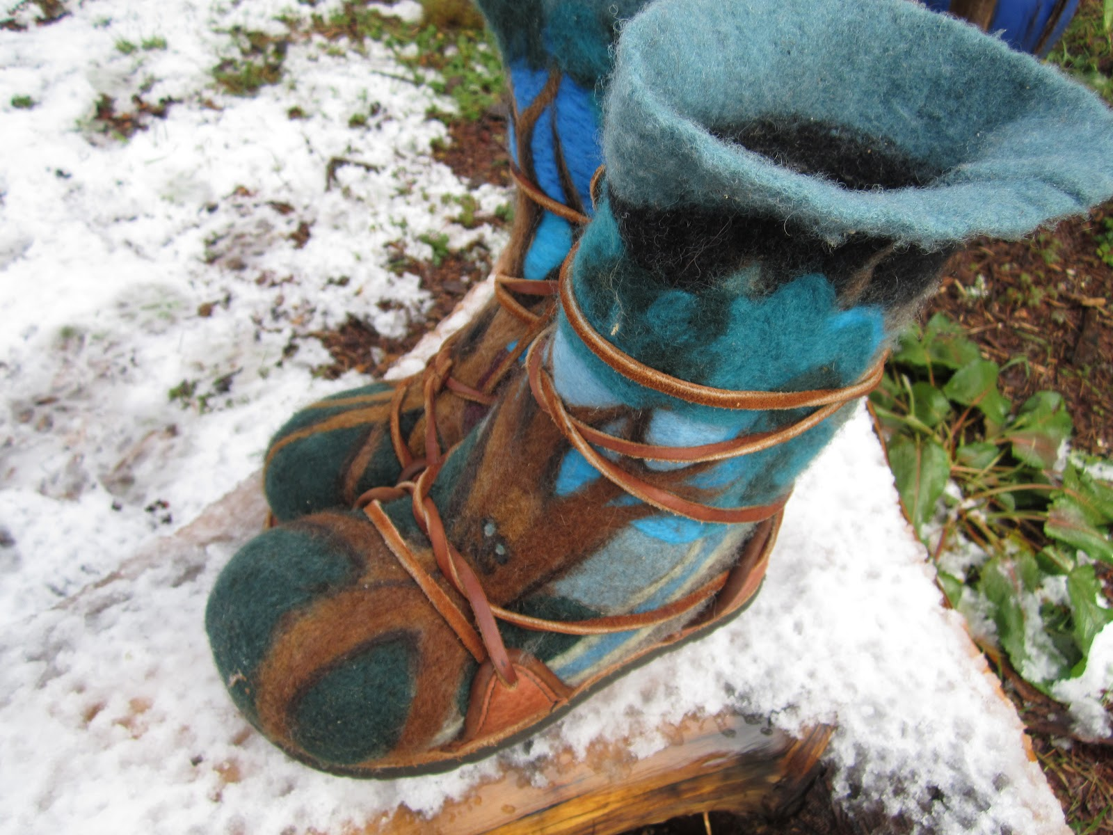 Mystic Orb How To Makethe Coolest Wool Boots Ever Easily