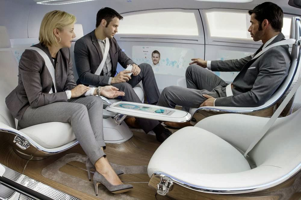 Mercedes Benz F015 Luxury in motion