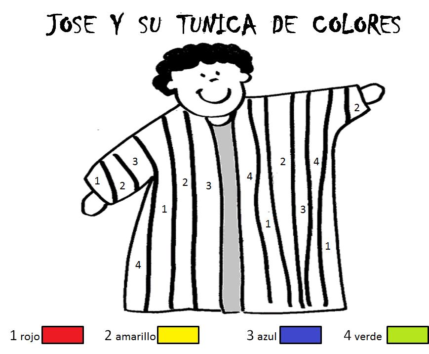 GUIA JOSE Y SU TUNICA DE COLORES