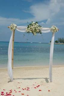 Decorating Wedding Arch