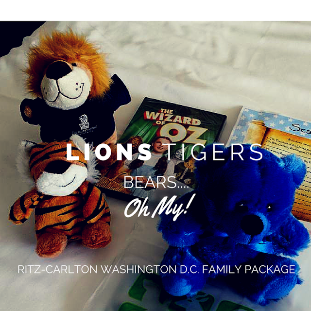 A traveler's look at family-friendly hotel packages at the Ritz-Carlton Washington D.C. The Lions,Tigers, Bears...Oh My! Package ties in with the National Zoo.