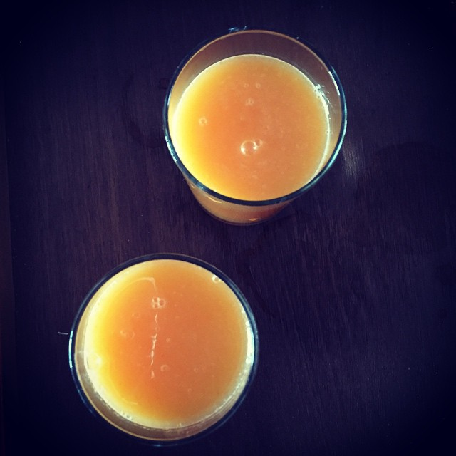 how to make homemade carrot juice