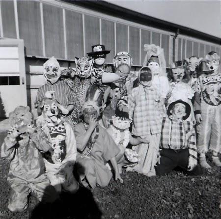 antiguos disfraces de Halloween