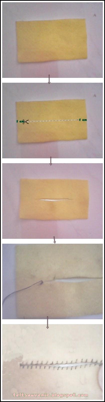 Cara Membuat Dompet Tissu dari Flanel