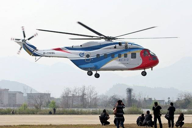 Asia's Largest Helicopter