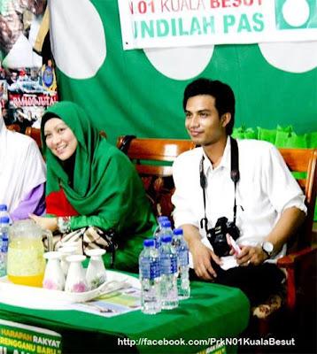 gambar Abby Abadi Dan Suaminya di PRK Kuala Besut.jpg