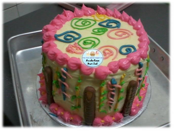 Rainbow Cakekek Pelangi Muffin Kaseh Azean Picture