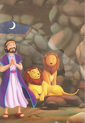 Daniel e os leões - história bíblica