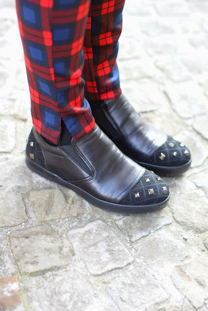 roberto botticelli sneakers, studded sneakers, fashion and cookies, fashion blogger