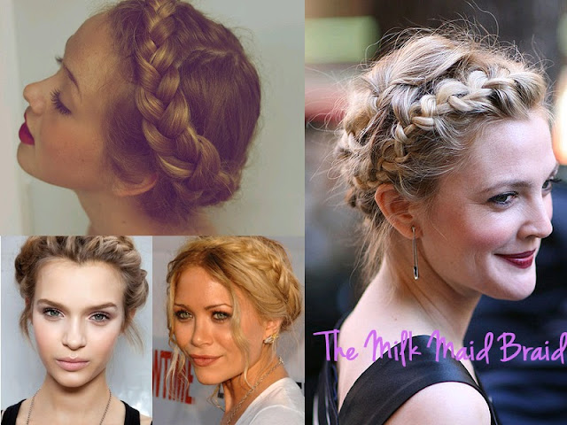 different braids, types of braids, braid, braid bible, how to braid, hair inspiration, hair, hair styles, pretty, hair do, lesimplyclassy, lesimplyclassy blog, le simply classy, le simply classy blog, samira hoque, styling, the milkmaid braid, the milk maid braid, milk maid braid, milkmaid braid, katniss hairdo, katniss braid, olsen milkmaid, marykate olsen, ashley olsen, up dos, hair up style, braided up do, crown braid