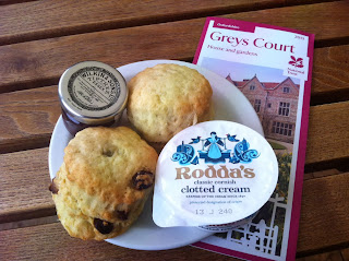 National Trust Scones at Greys Court