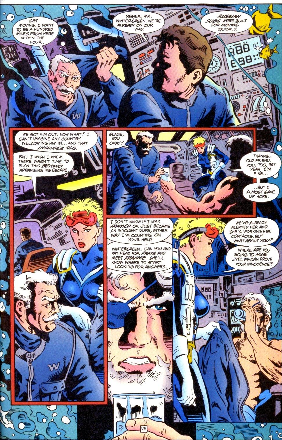 Deathstroke (1991) Issue #0 #5 - English 23