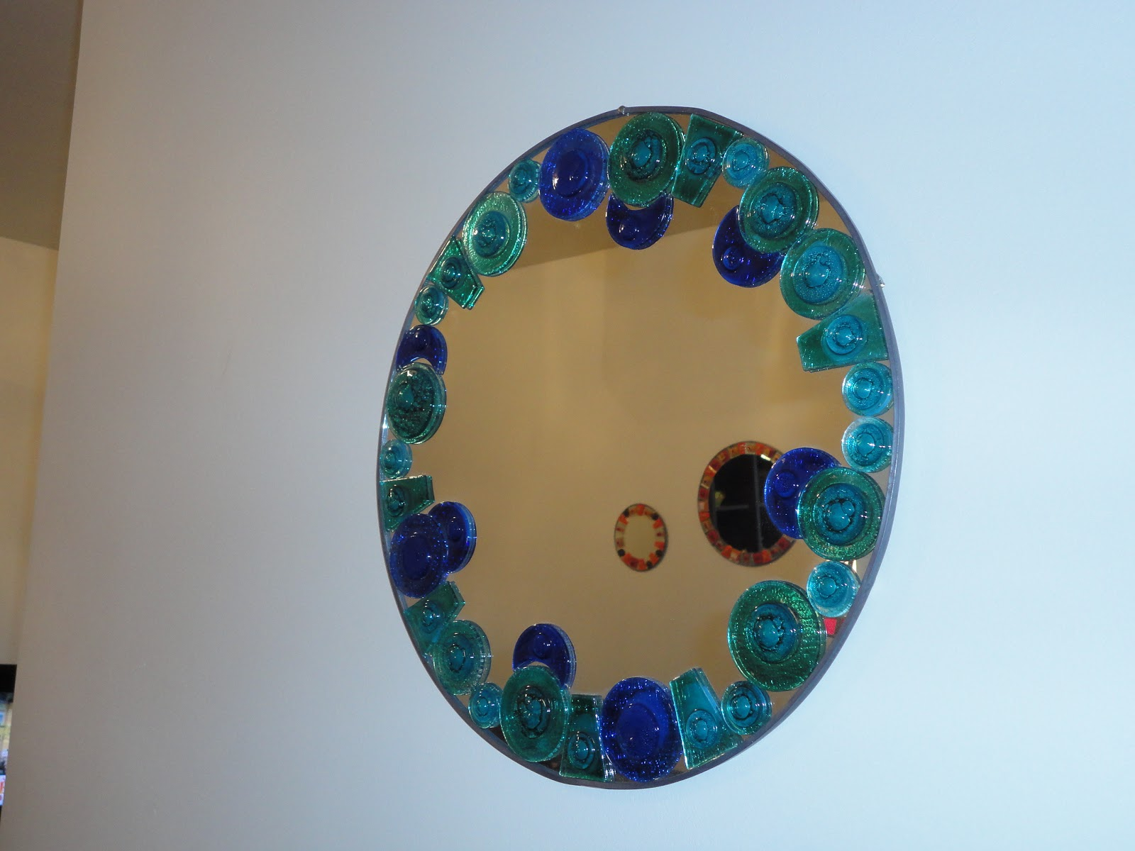 Vitro vitrofusi n taller obachi espejos circulares for Espejos circulares pared