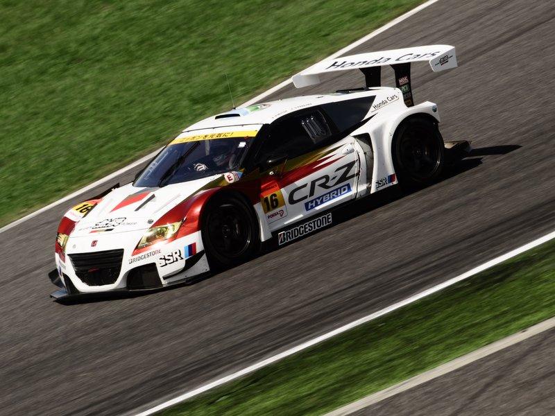 Super GT, japońska liga wyścigowa, seria, JDM, japanese, racing, Autobacs, Honda CR-Z
