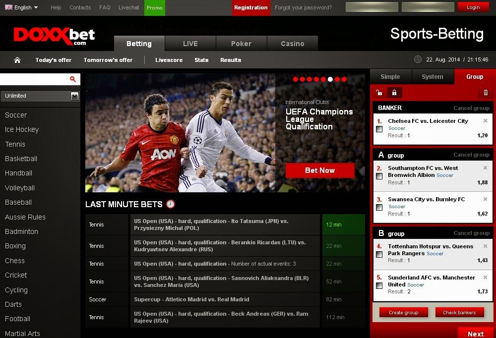 Doxxbet Sportsbook