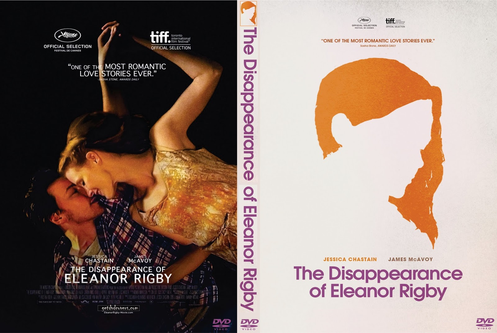 Dois Lados do Amor BDRip XviD Dual Áudio getdvdcovers the disappearance of eleanor rigby 2014 custom front