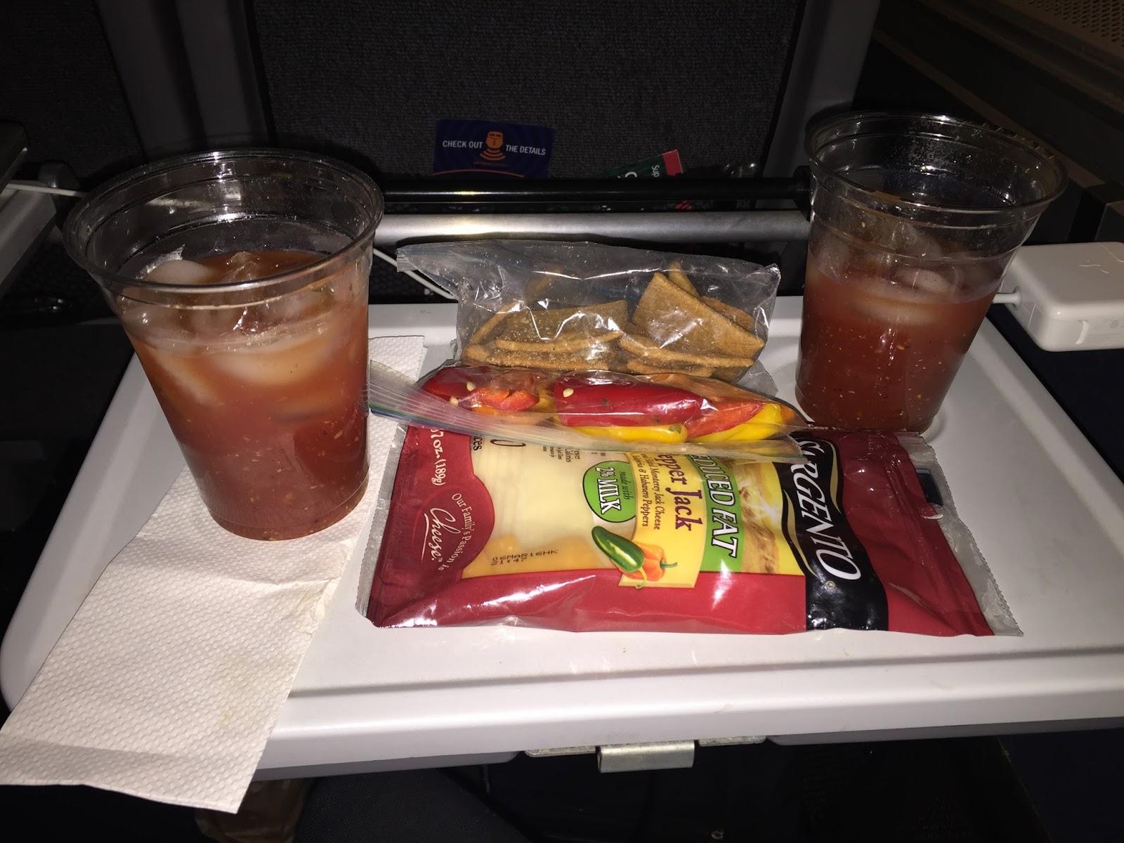 Amtrak Food Menu