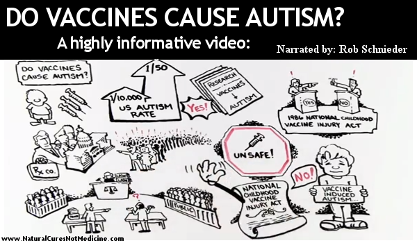 Autism can't be caused by vaccinations