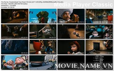 Hoodwinked Too-Hood Vs Evil (2011) DVDRip 350MB