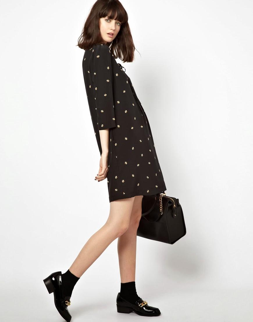 jaeger black dress