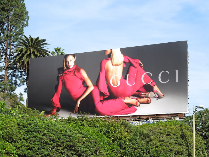 Gucci Spring 2013 fashion billboard