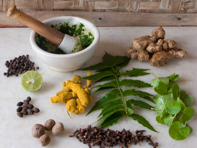 medicine and ayurveda The herbs commonly used in the manufacture of ayurvedic medicine are highly nutritive with lot of healing properties today, ayurveda and its herbal treatment flourishes side by side with homeopathic, unani tibb and western conventional medicine and is actively encouraged as an inexpensive.