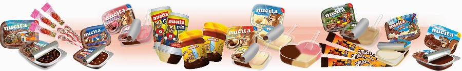 produtos da Nucita para participar do concurso