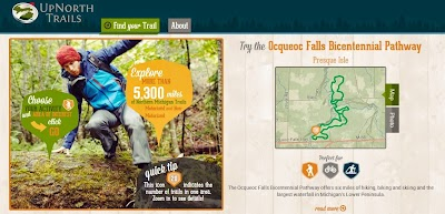 'Up North Trails' website provides one-stop-shop for northern Lower Peninsula trail maps and information
