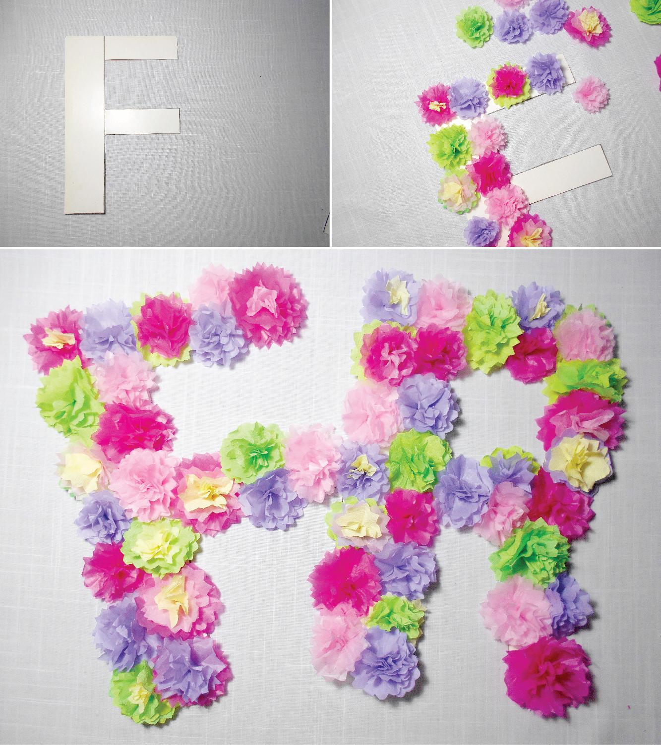 Diy Paper Flowers And Butterflies Wall Art Room Decoration Idea
