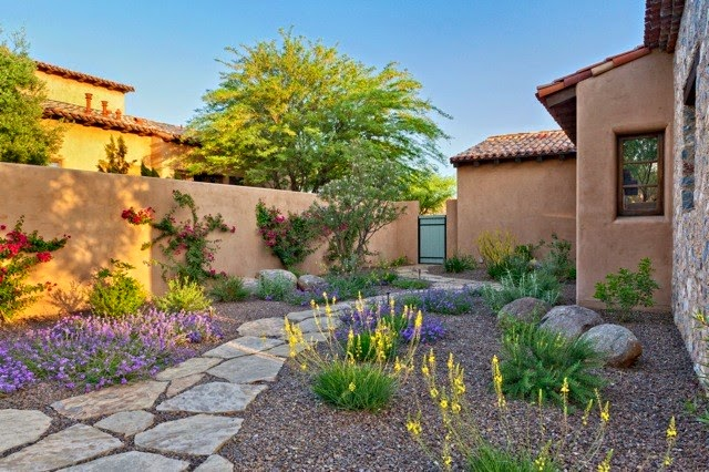 Landscaping Ideas For Front Yard In Arizona : Dry weather landscaping ideas best garden planning