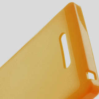 TPU Jelly Case Sony Xperia C C2305 S39h - Yellow