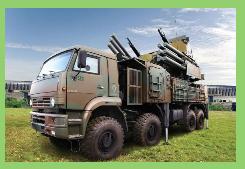 Militares brasileños evalúan en Rusia el Pantsir-S1