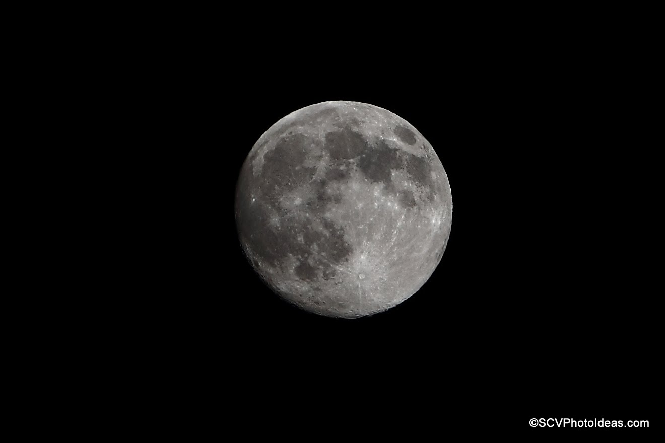 Full moon South Cephalonia 2014 - 50% crop