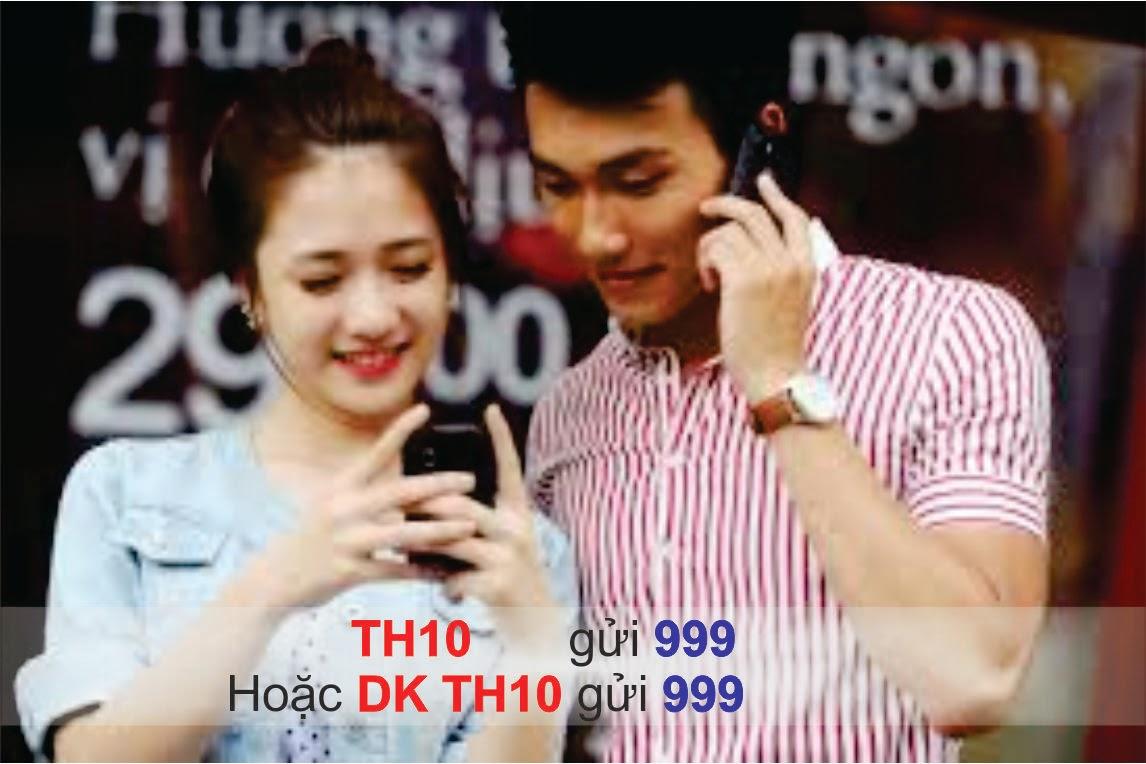Cách đăng ký gới TH10 của Mobifone