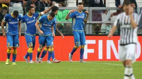 Juventus 0 x 1 Udinese - Campeonato Italiano(Calcio) 2015/16